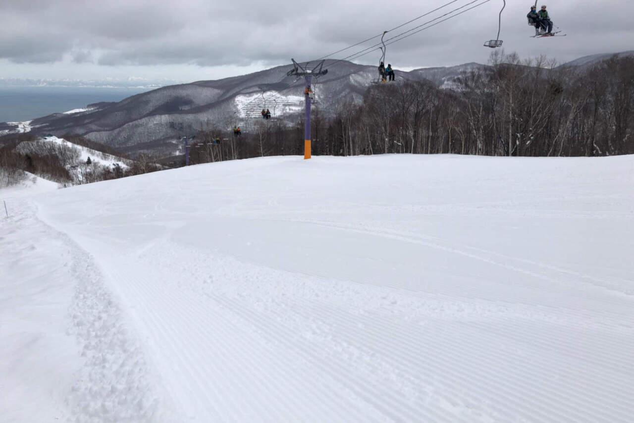 朝里川温泉スキー場 パープルコース