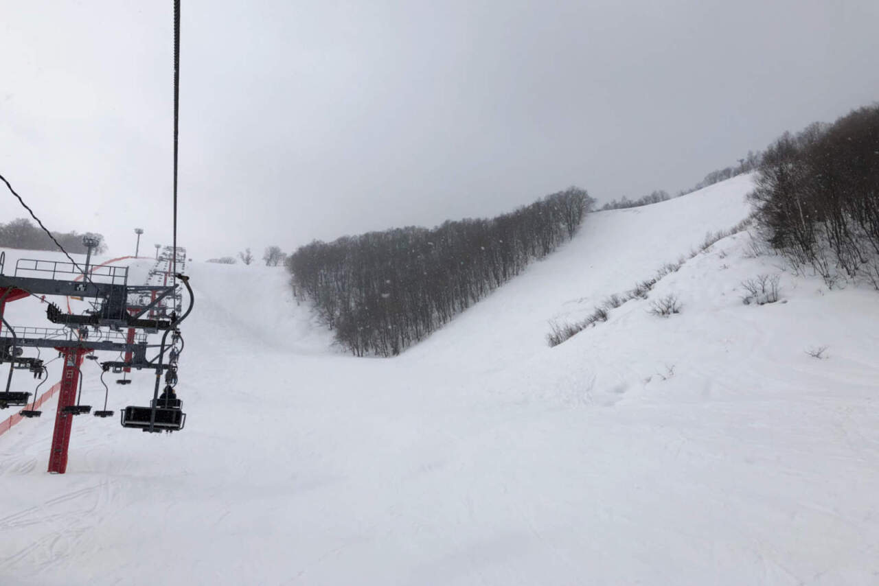 朝里川温泉スキー場 レッドコース