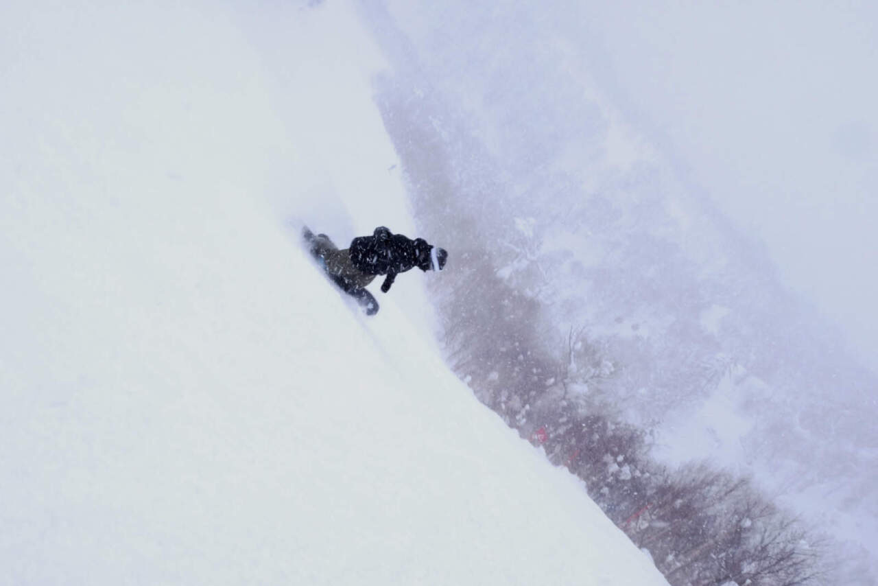 札幌国際スキー場 スイングコース