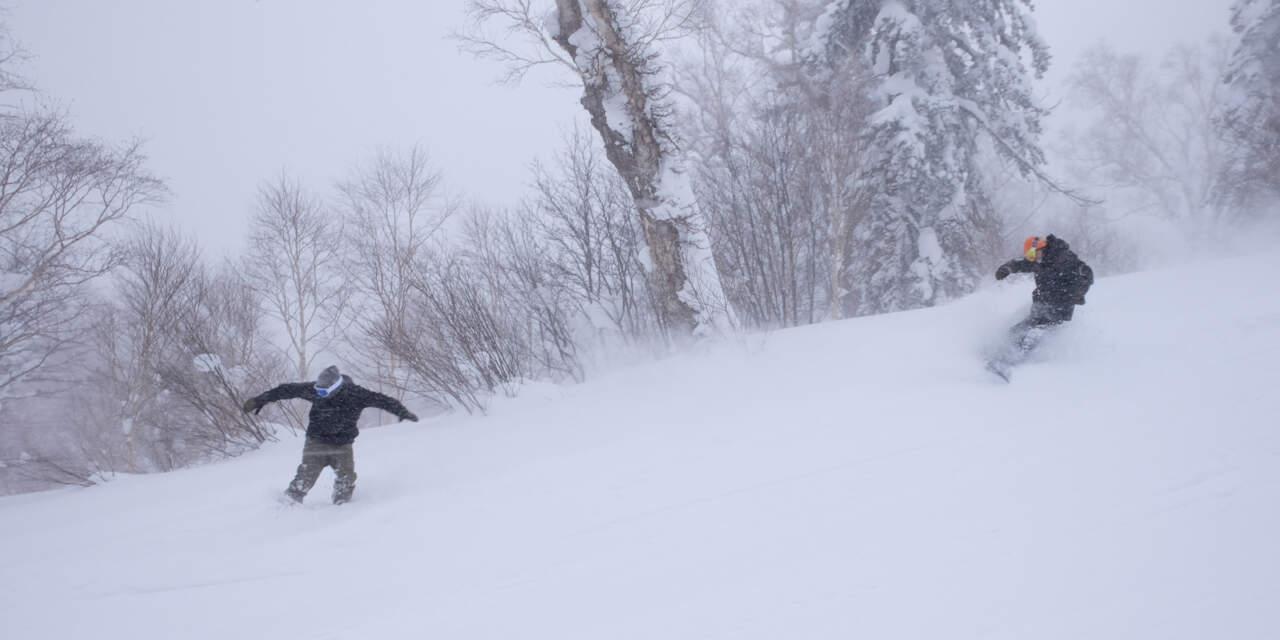 札幌国際スキー場|諸橋正太&竹田礼くん