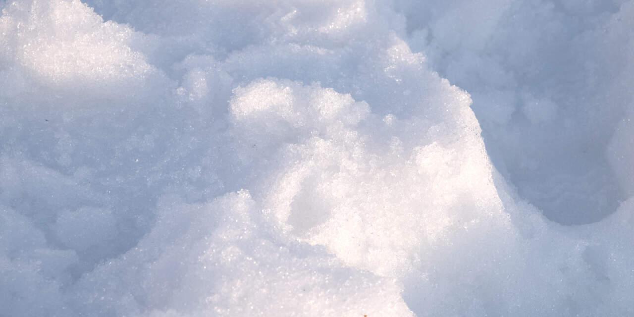 北海道のゲレンデ 春雪