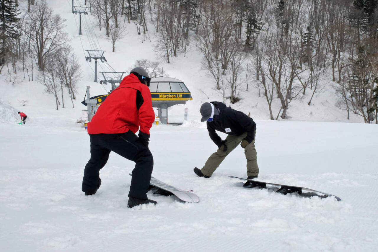 札幌国際スキー場|レッスン開始