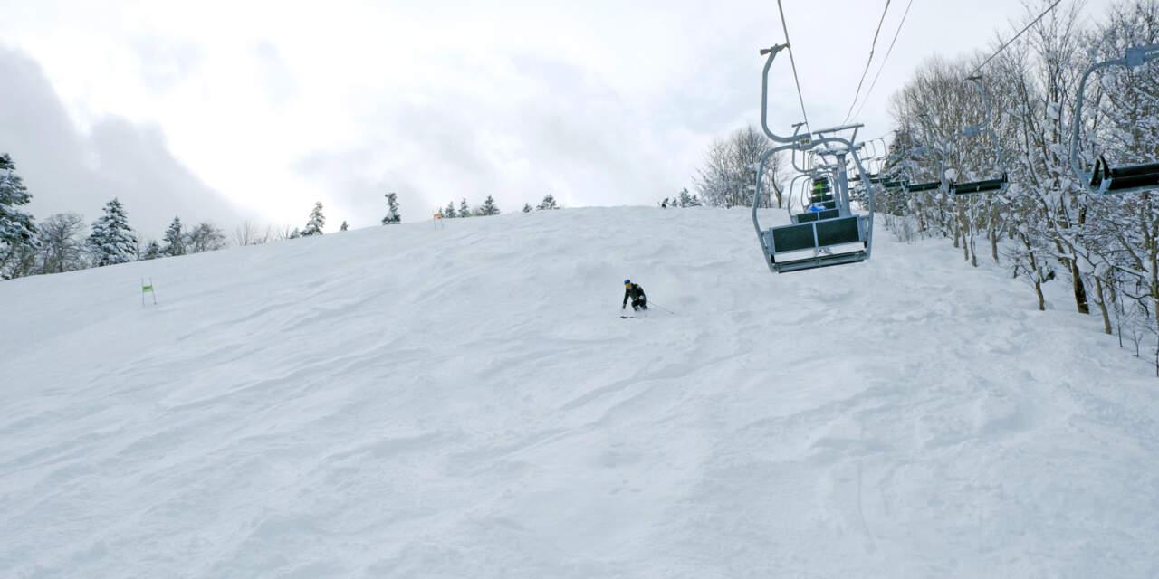 桂沢国設スキー場|オレンジ