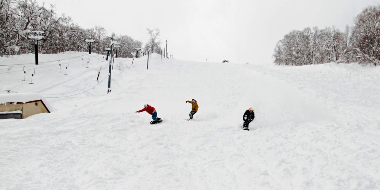 かもい岳スキー場|トレーニングバーン