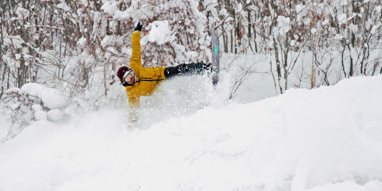 かもい岳スキー場|ユウスケくんのライディング