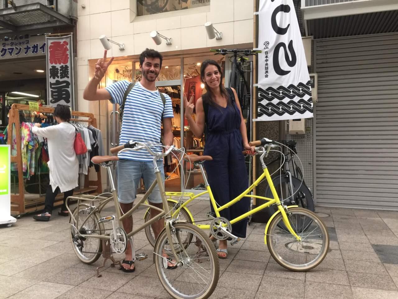 ポルトガルからのツーリスト、ジョセ&ラファエラ