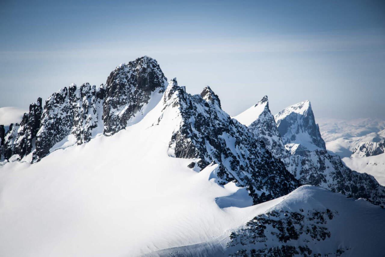 ノルウェーの山