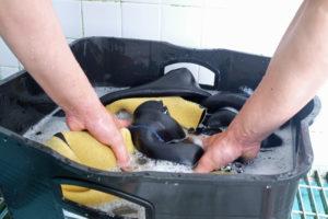 ウェットスーツ洗浄