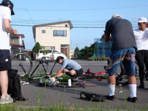 サイクリストの永井さん