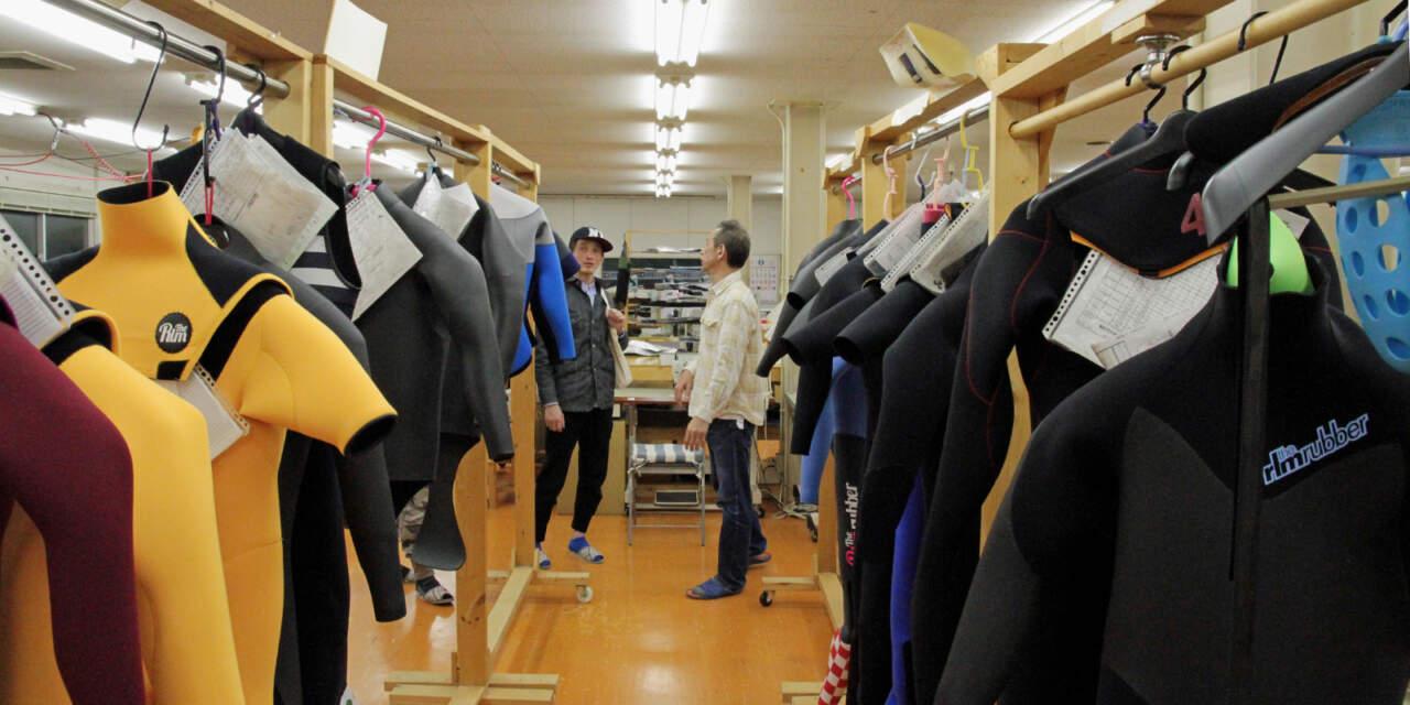 仙台石巻の工場XUMA