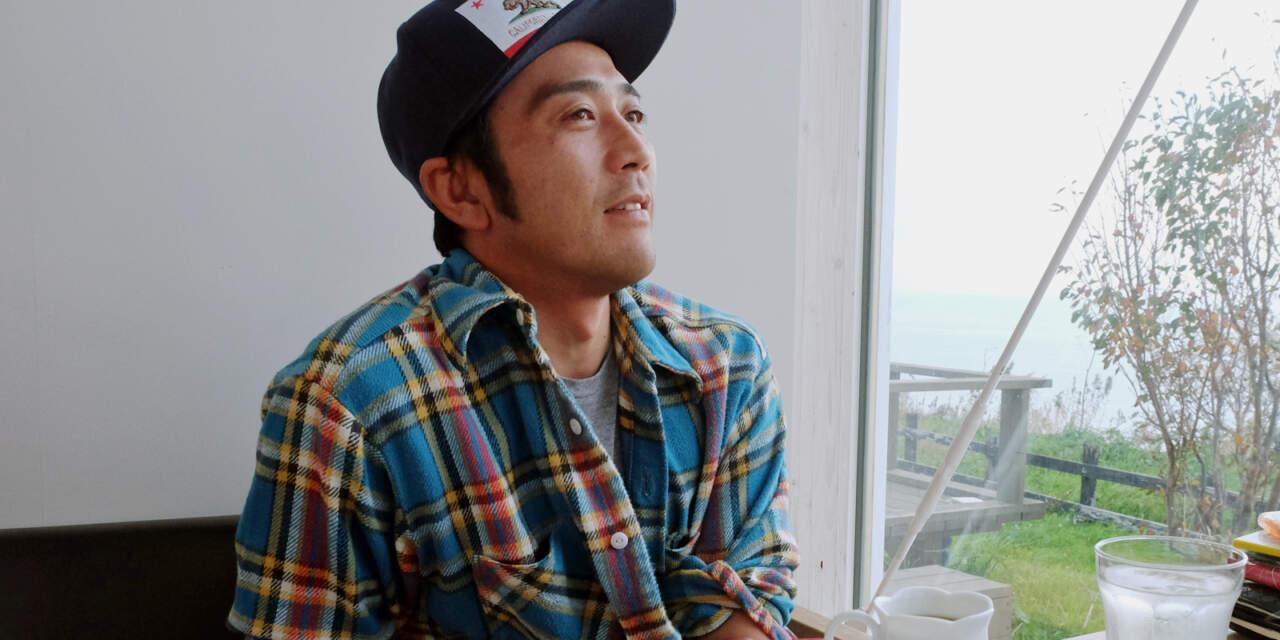 インタビューに答える堀田雄也くん