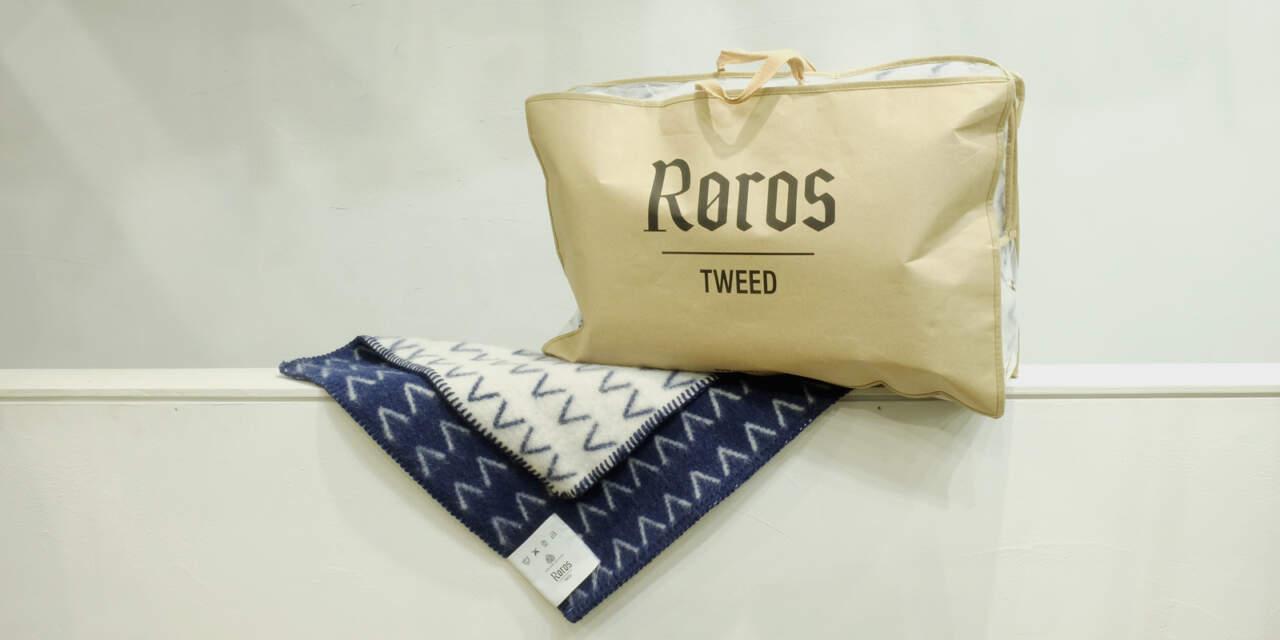 fiell × roros tweed ブランケット