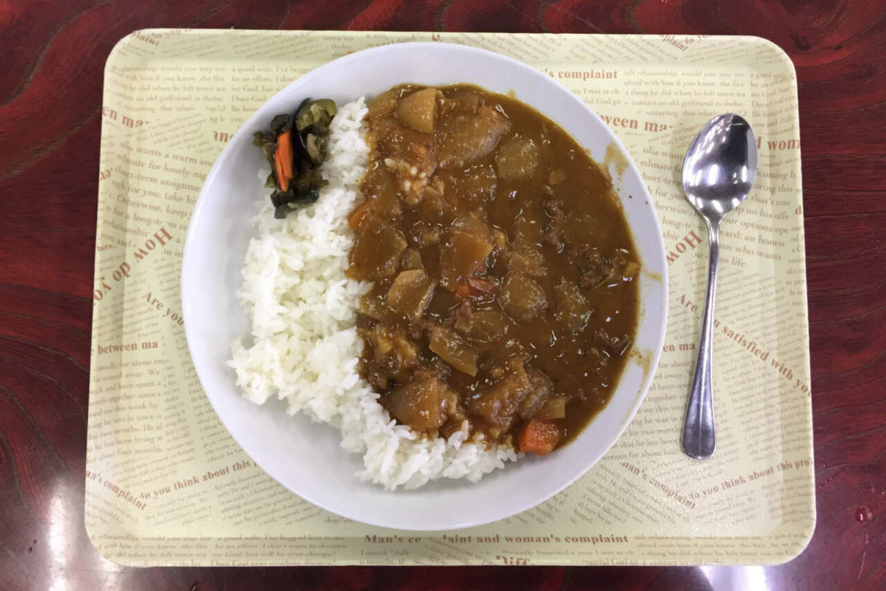 ぴっぷスキー場 シカ肉カレー
