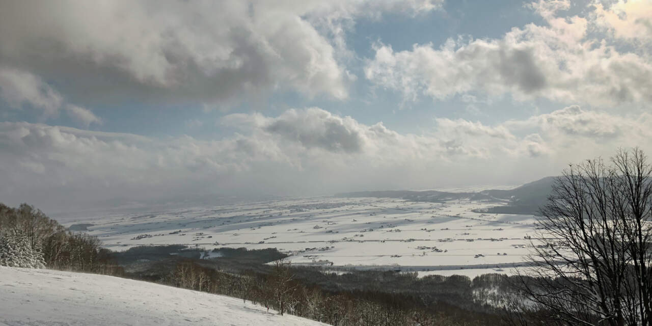 ぴっぷスキー場からの景色