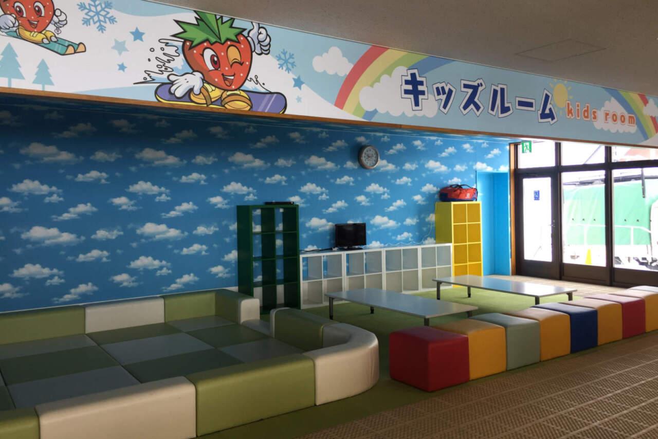 ぴっぷスキー場 キッズルーム