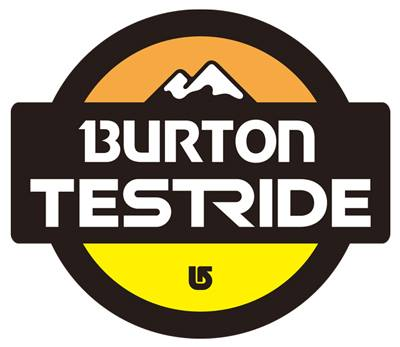 burton test ride ロゴ