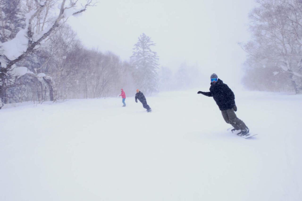 札幌国際スキー場 メルヘンコース