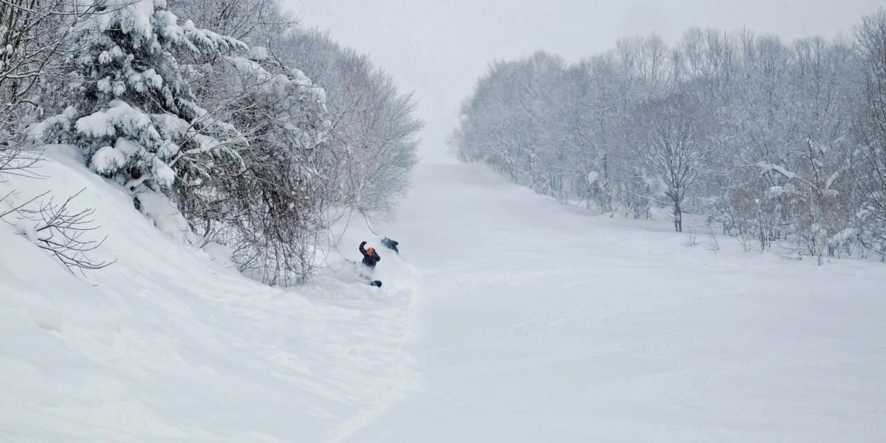 ぴっぷスキー場 ストロベリーコース