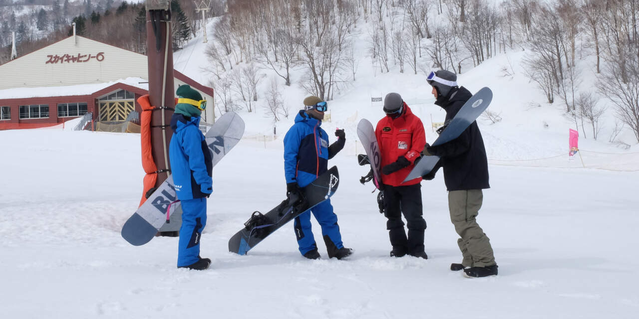 札幌国際スキー場|インストラクターの皆さん