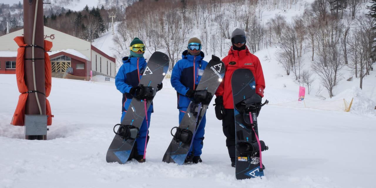 札幌国際スキー場スクールインストラクター