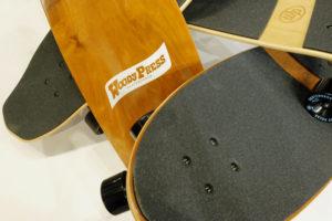 トレーニングの為のスケートボードWOODY PRESS