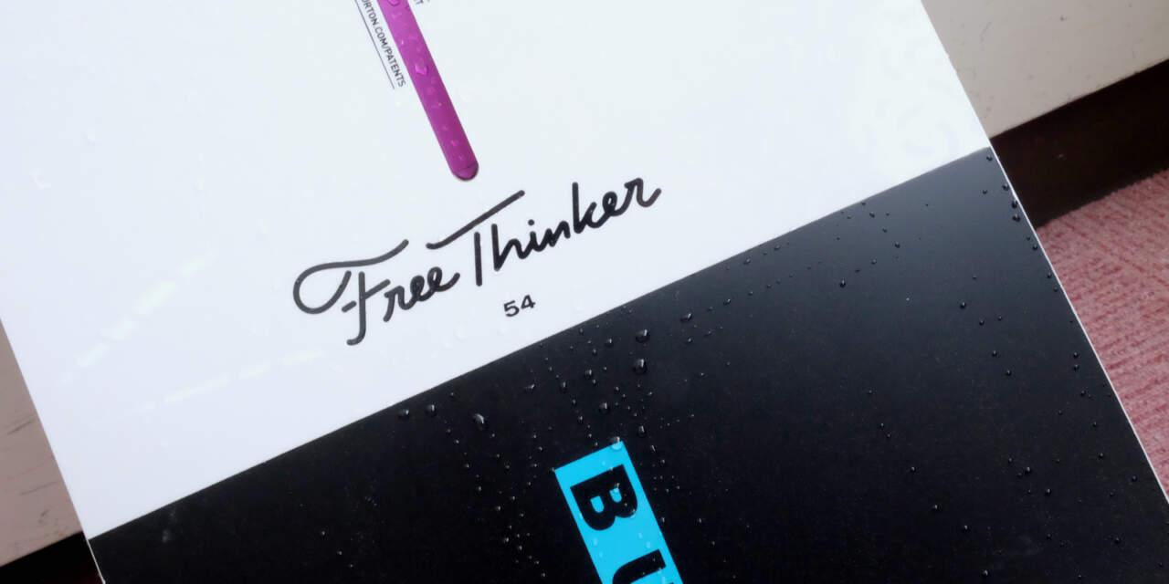 BURTON 2018-2019 FREE THINKER