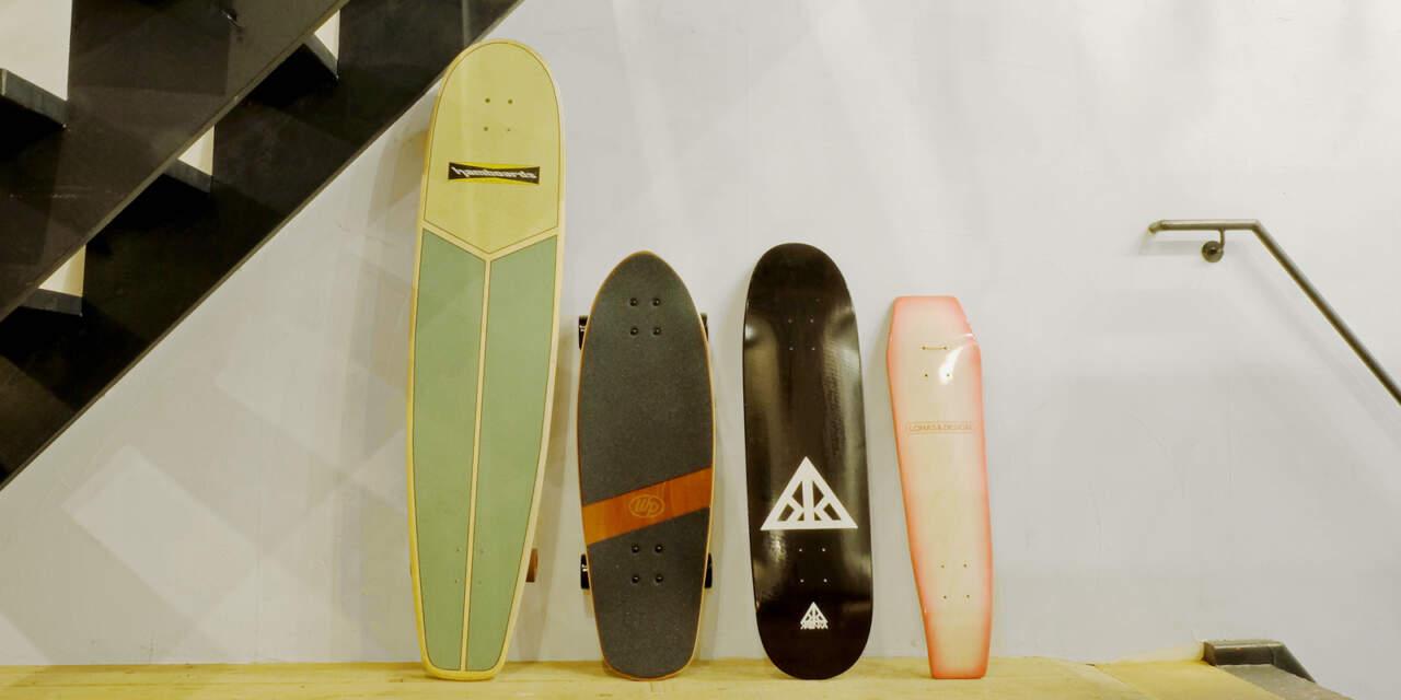 MOJANEにある色々なスケートボード