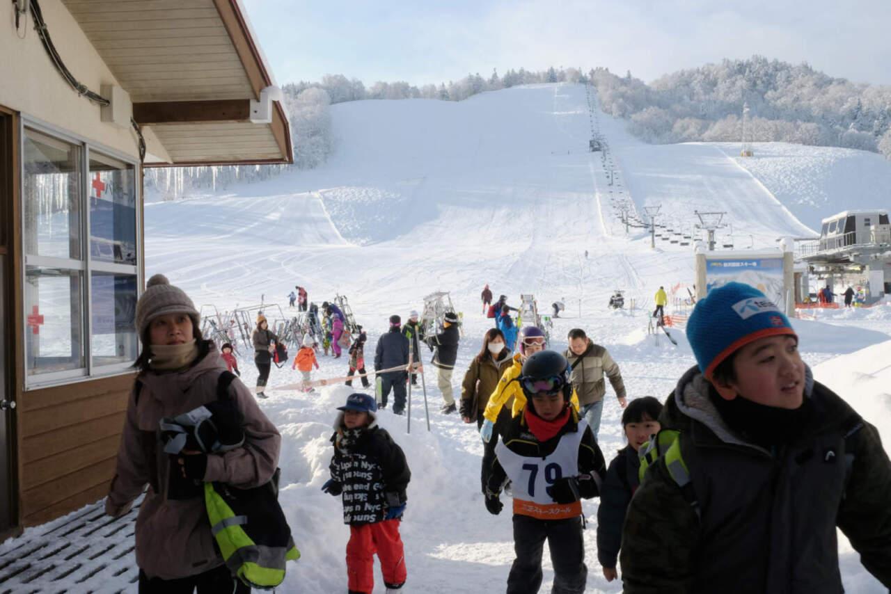 桂沢国設スキー場|来場者