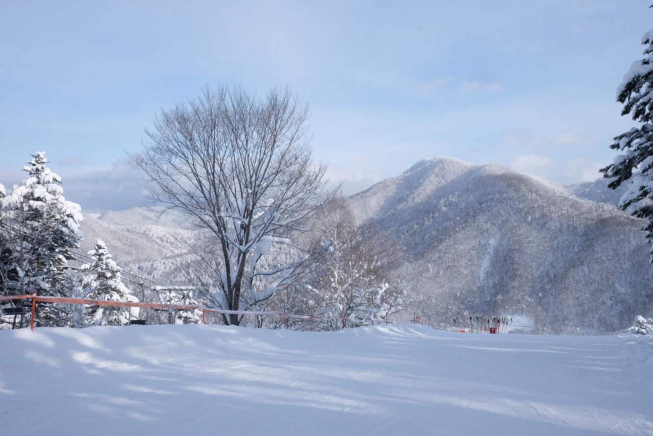 桂沢国設スキー場|リフト降り場