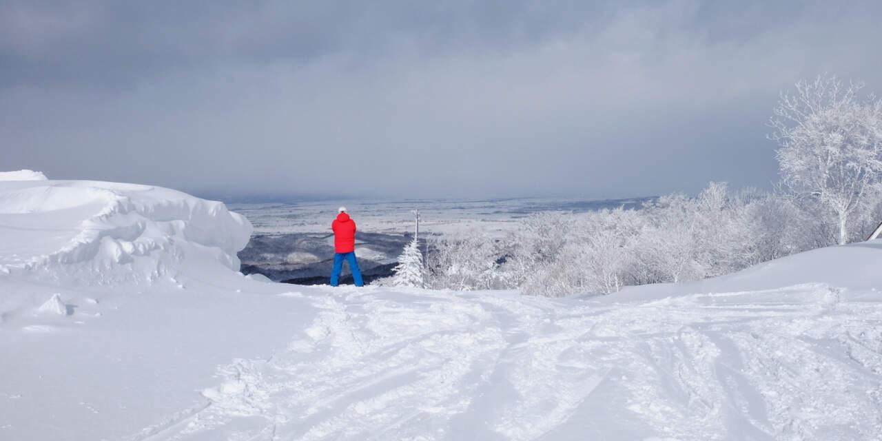平山雅一くん かもい岳スキー場