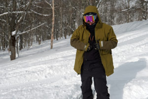 【北海道版】 スノーボードウェアの中の効果的なレイヤード