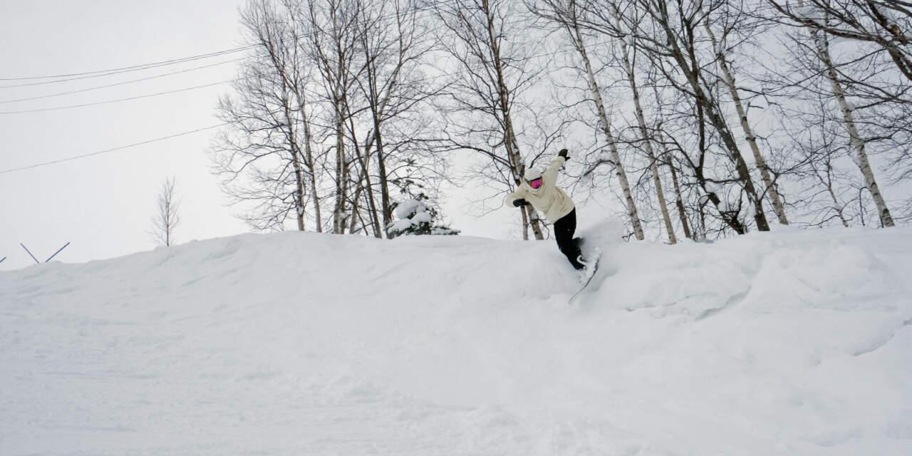 美唄国設スキー場 パラダイスコース