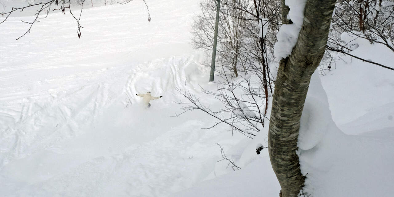 美唄国設スキー場 東コース