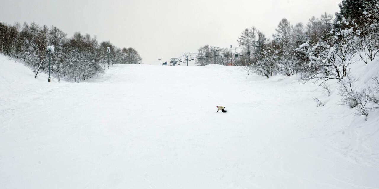 美唄国設スキー場 パノラマコース