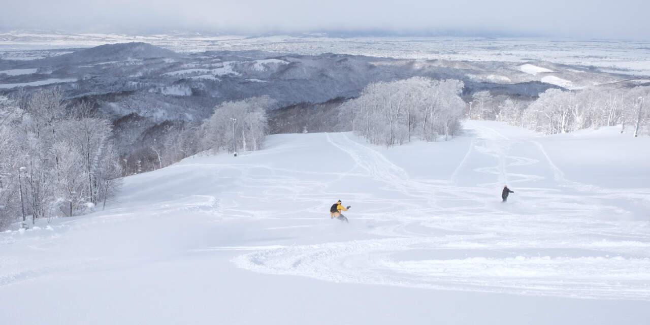 かもい岳スキー場|Dコース
