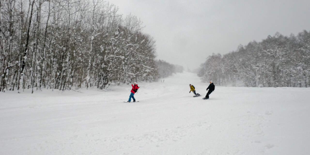 かもい岳スキー場|Aコース