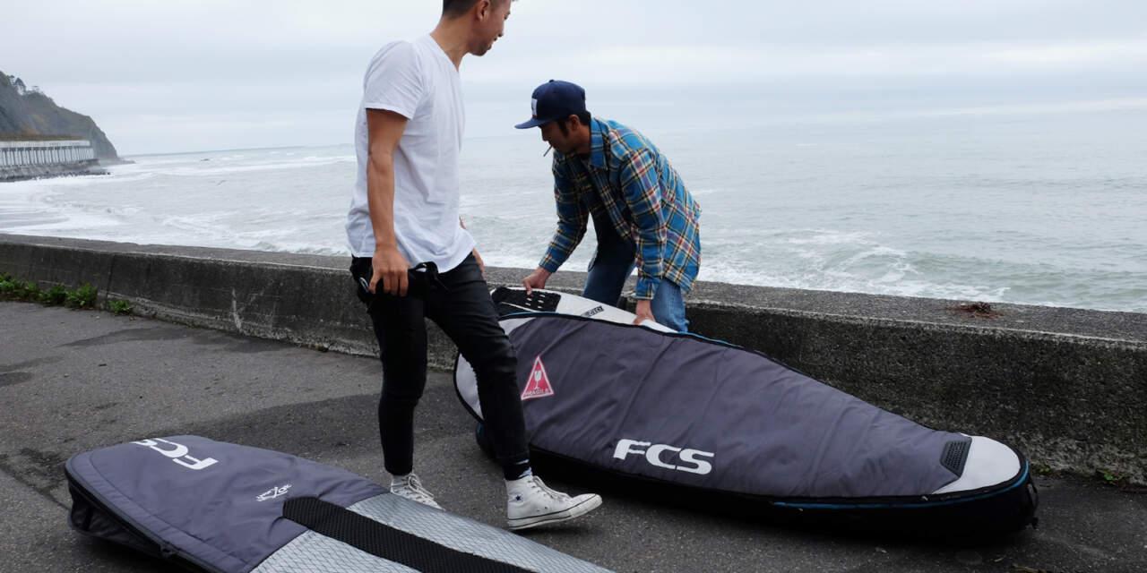 FCSのサーフボードケース