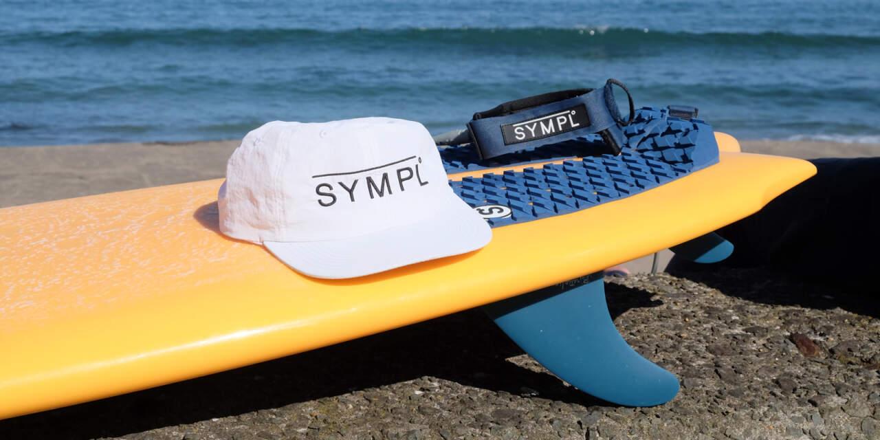 SYMPLEのサーフキャップ