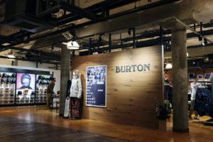 BURTON直営店がサッポロファクトリーに期間限定オープン!