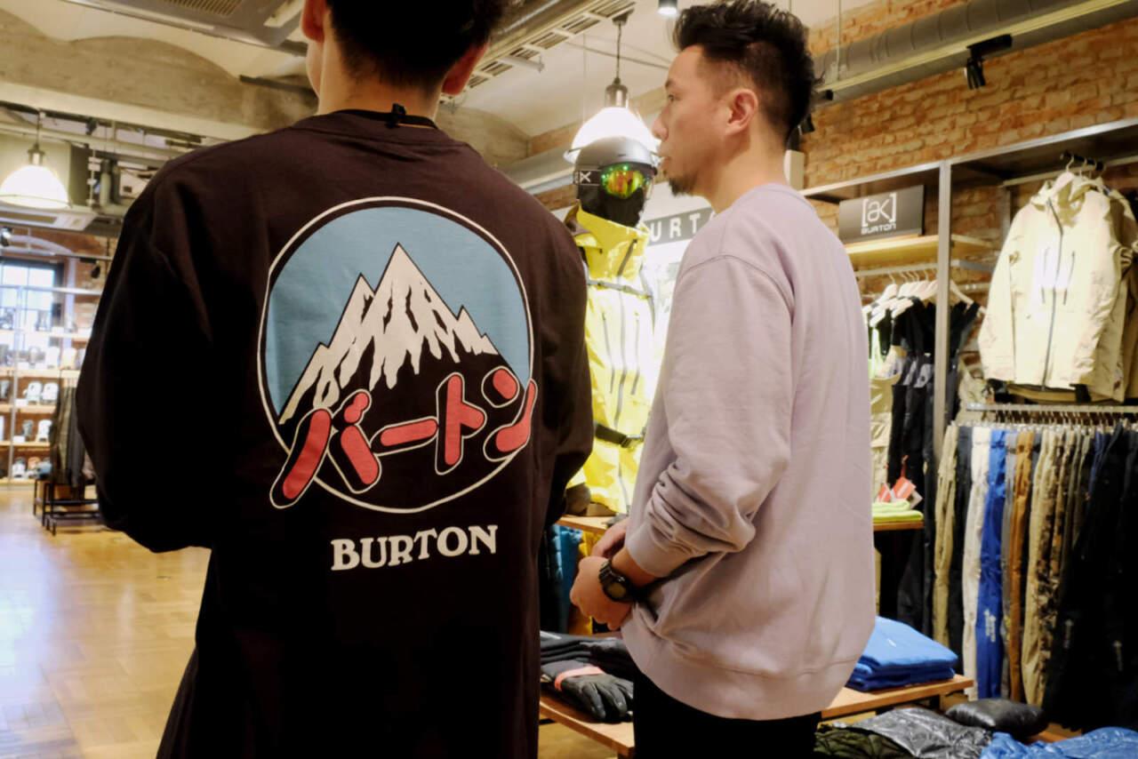 BURTON日本限定アイテム