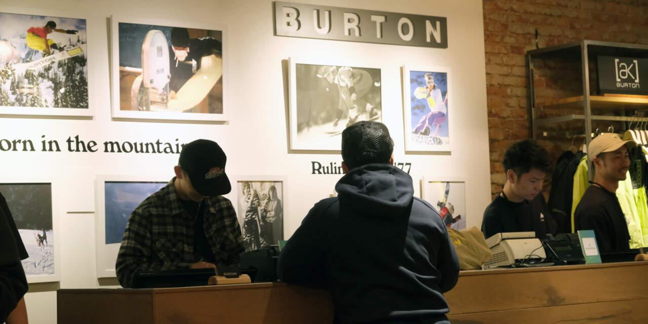 BURTON SAPPOROカウンター