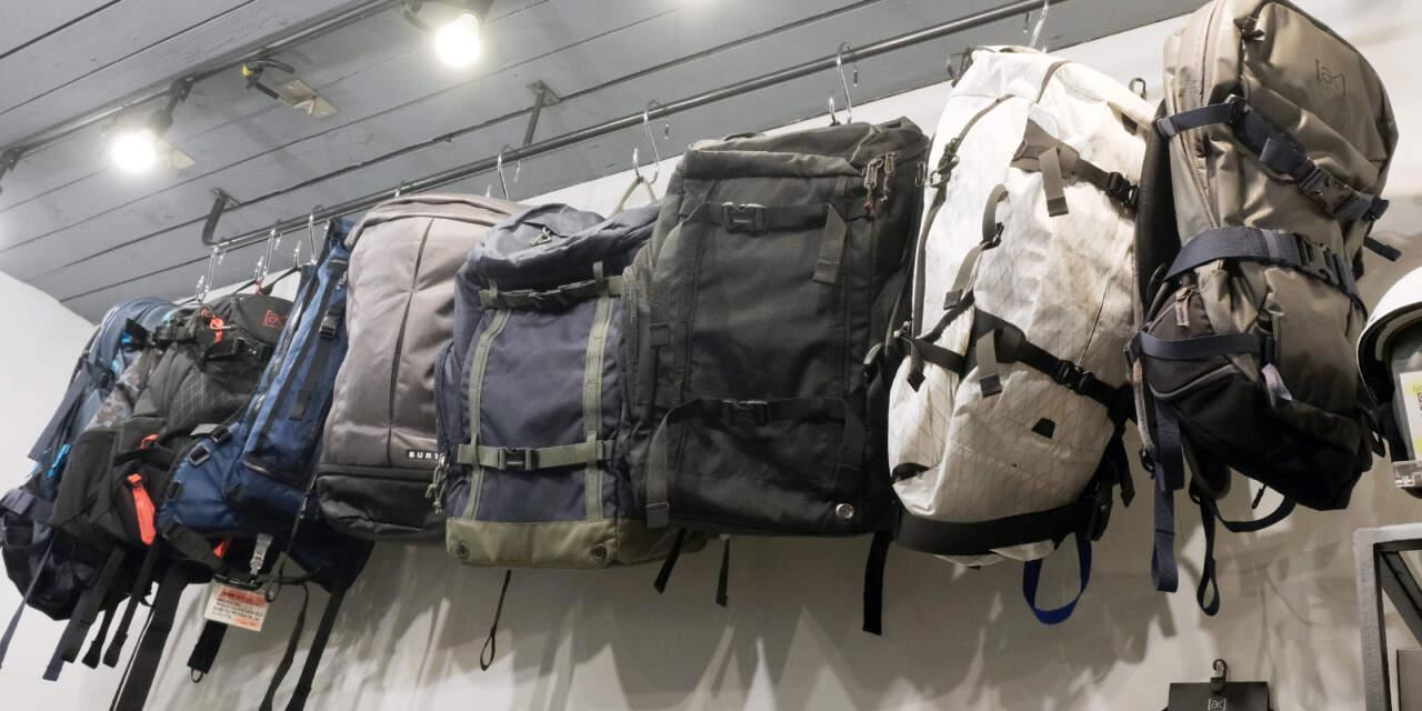 スノーボードの為のバッグ
