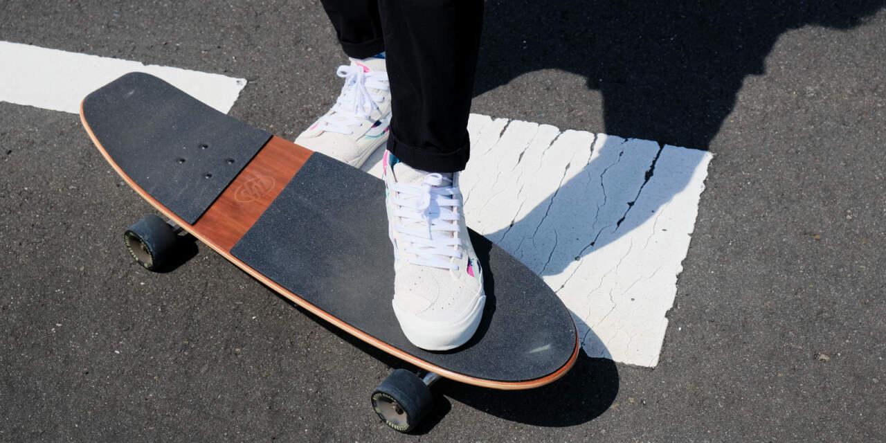 スケートボードの見本画像