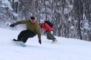 BIG GULP|北海道のタイトなツリーランで潜在能力を発揮