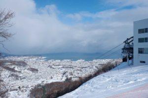 小樽天狗山スキー場|最大斜度40度  観光の街のアグレッシブ