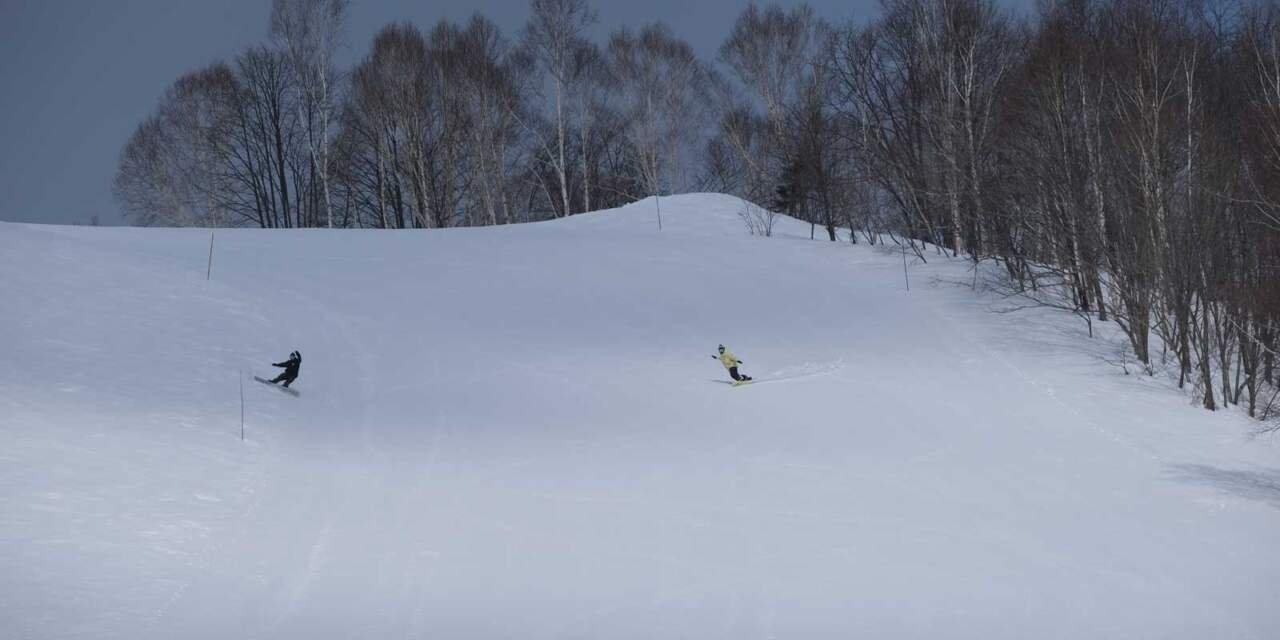 ほろたちスキー場 からまつコース