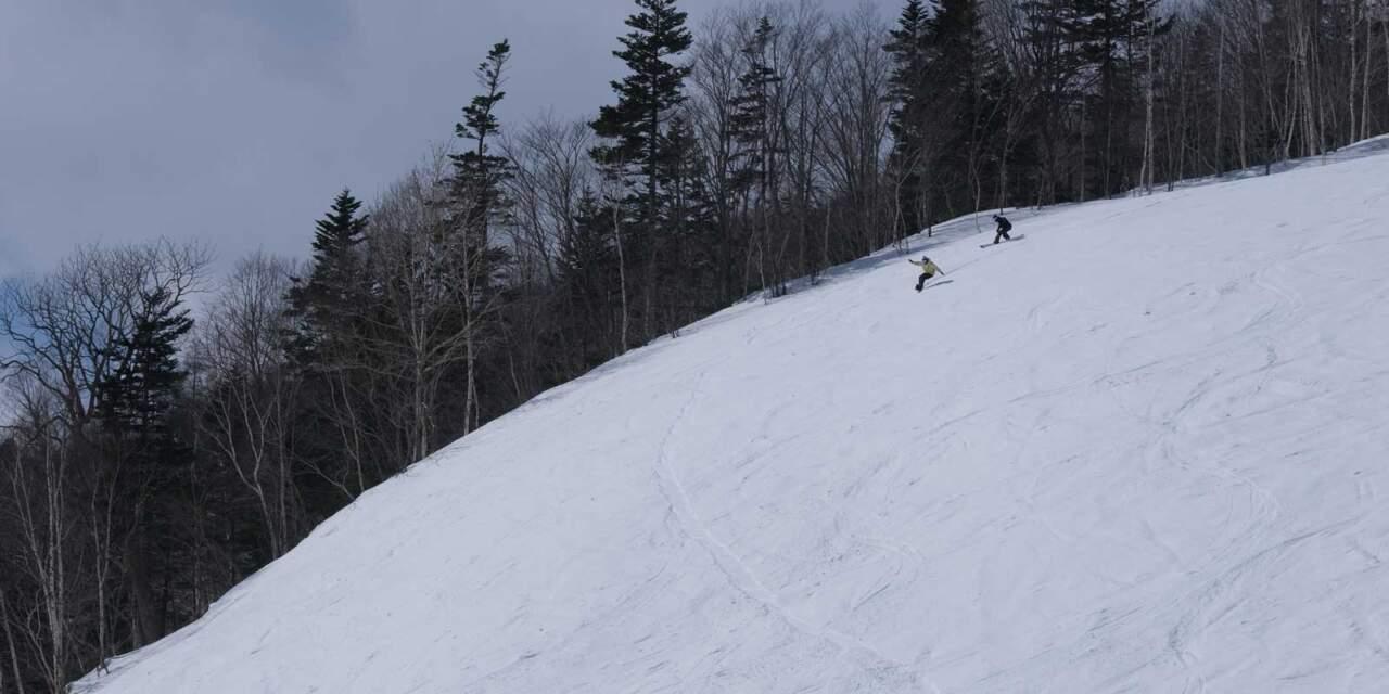 ほろたちスキー場 ほろたちコース