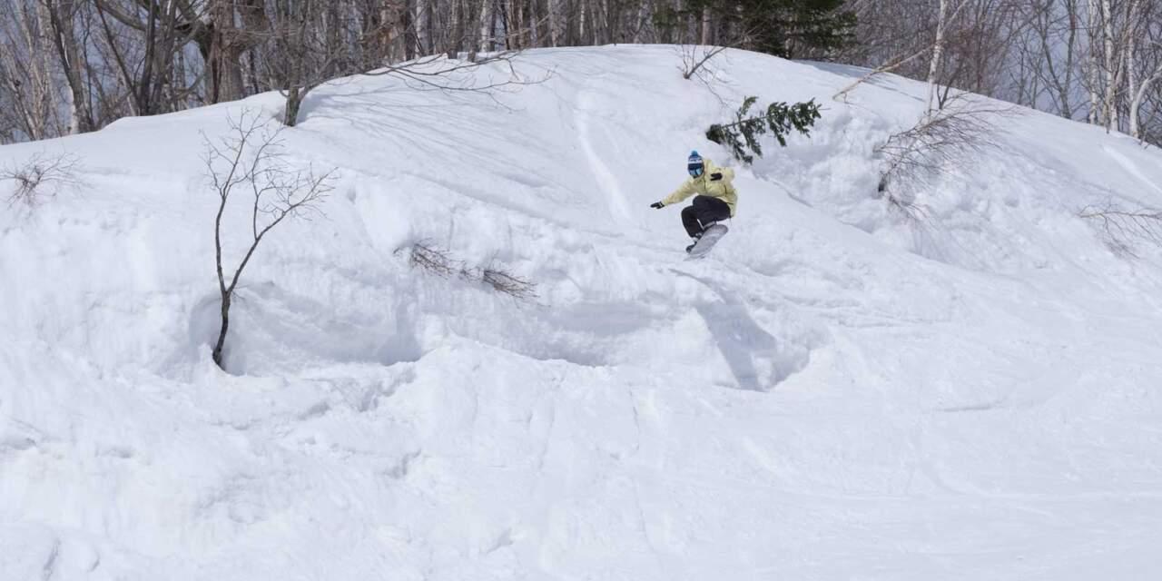 ほろたちスキー場 林間コース|moro