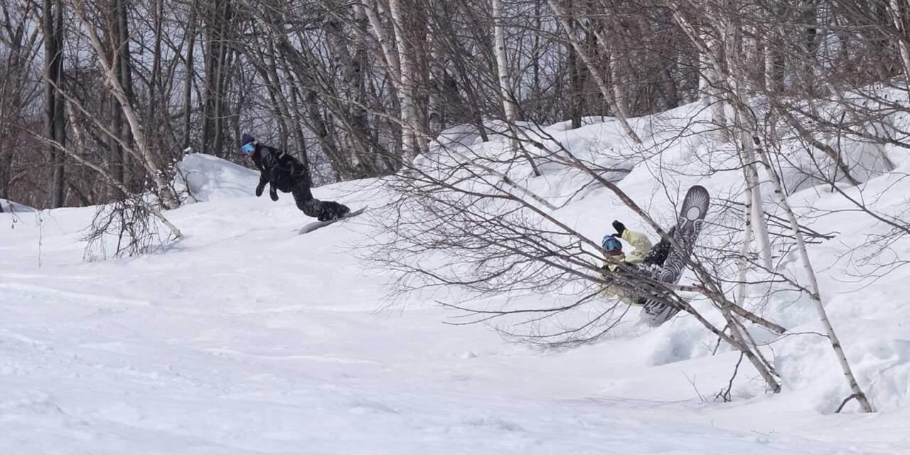ほろたちスキー場 しらかばコース