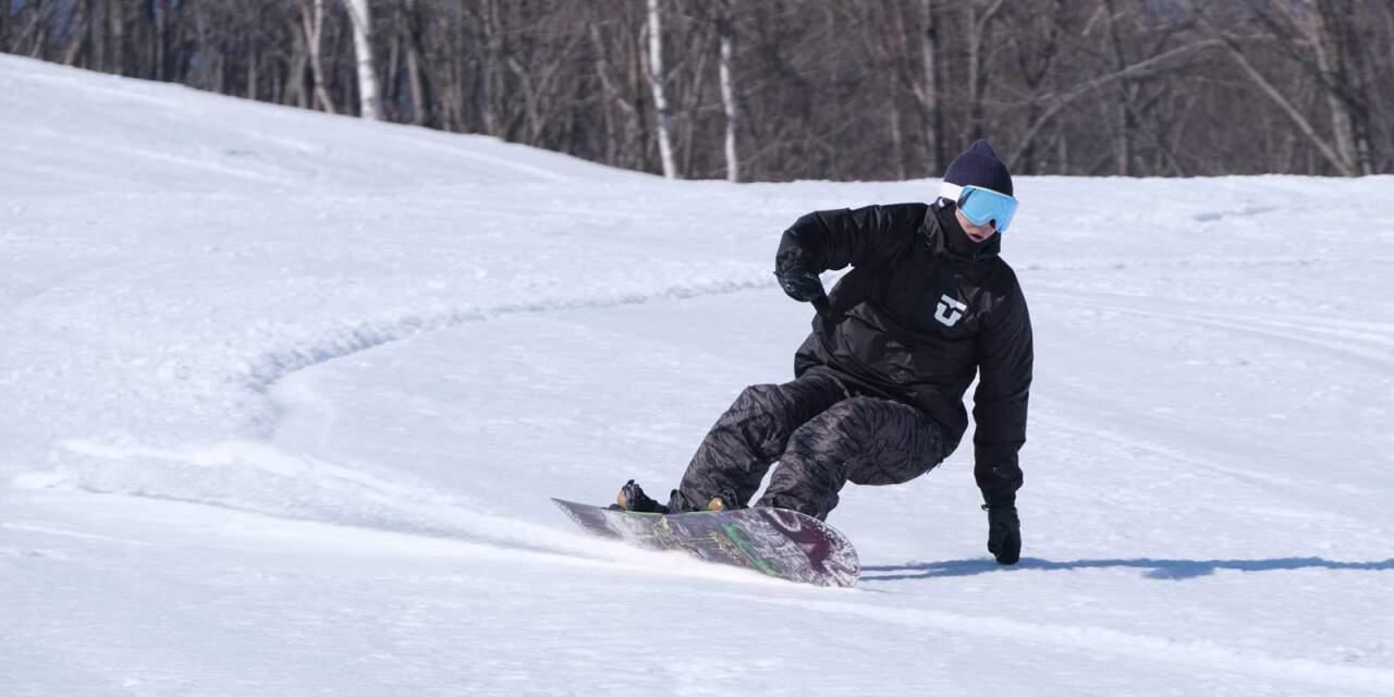 ほろたちスキー場 からまつコース|緒畑くん